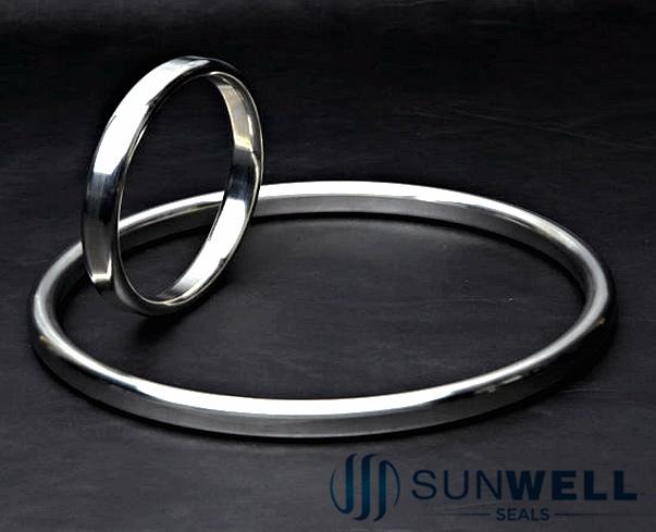 Junta de junta de anillo ovalado